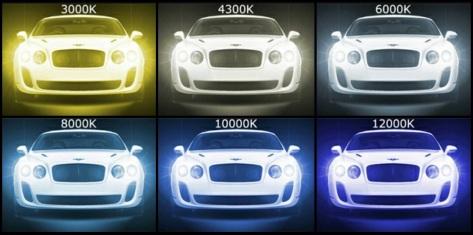hid headlights - new